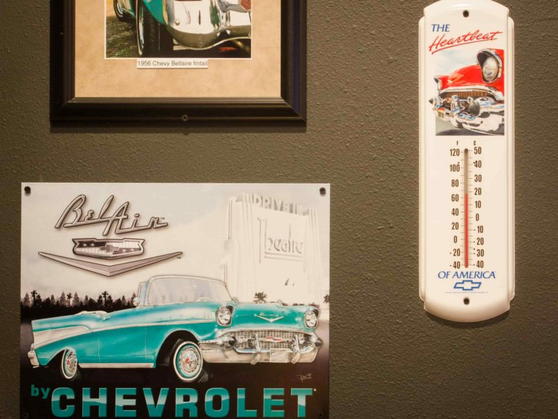 Nick's-Grill-Chevy-Belair-Wall-Poster
