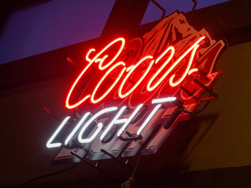 Nick's-Grill-Coors-Light-Neon-Light